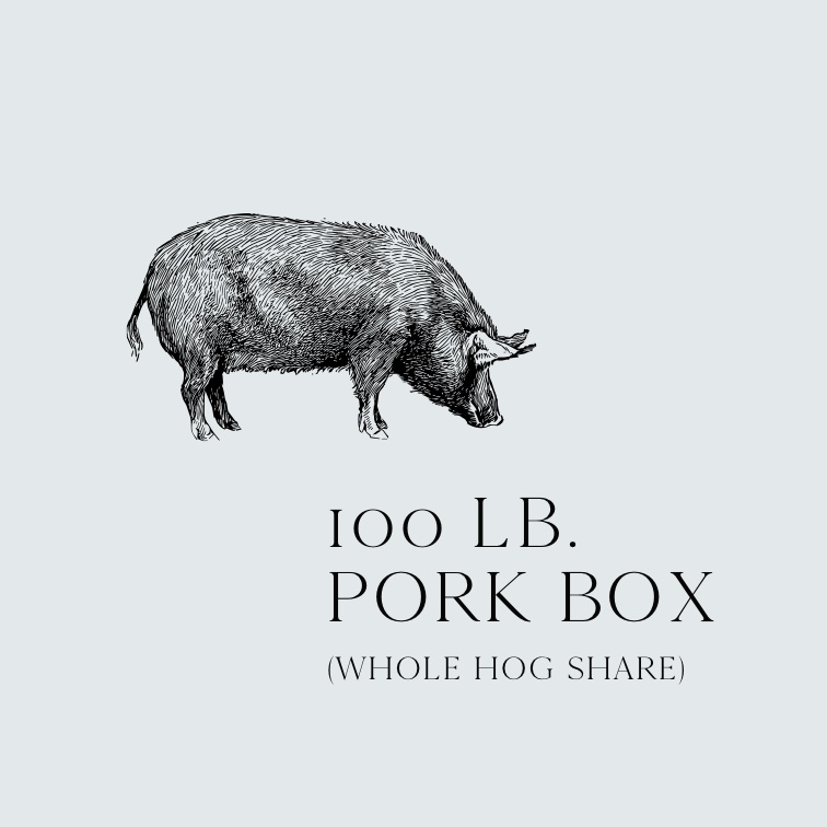 100 pounds Virginia ham | Lexington
